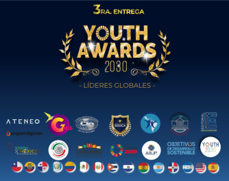 "Presea ""Youth Awards 2030: Líderes Globales"""